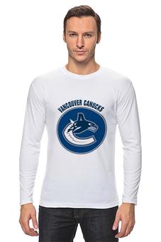 "Лонгслив ""Vancouver Canucks"" - хоккей, nhl, нхл, vancouver canucks, ванкувер кэнакс"