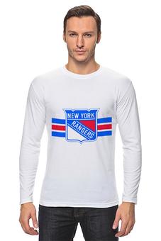"Лонгслив ""Нью-Йорк Рейнджерс"" - хоккей, nhl, нхл, нью-йорк рейнджерс, rangers"