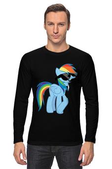 "Лонгслив ""Rainbow Dash"" - rainbow dash, mlp, my little pony, пони, рэйнбоу"
