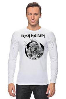 """Лонгслив """"Iron Maiden Band"""" - music, rock, heavy metal, рок музыка, iron maiden, хэви метал, eddie"""