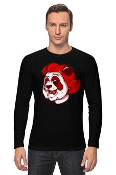 """Лонгслив """"PANDA FACE"""" - panda, face"""