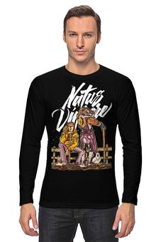 """Лонгслив """"Natus Vincere (Na'Vi) – Illustration Black"""" - игры, game, иллюстрация, зверь, dota, dota 2, navi, natus vincere, monsters, монстры"""