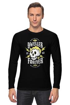 """Лонгслив """"Dweller Forever"""" - череп, fallout, vault, убежище, dweller"""