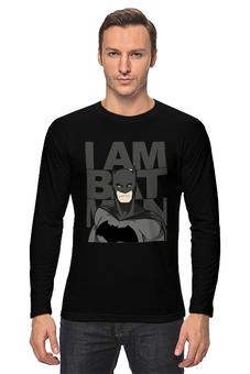 "Лонгслив ""Бэтмен (Batman)"" - бэтмен, batman"