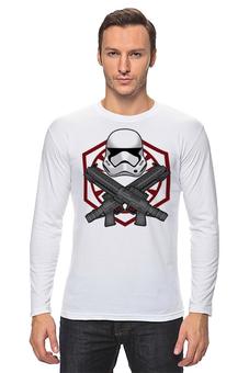 """Лонгслив """"First order trooper - Star Wars"""" - космос, фантастика, звездные войны, штурмовик"""