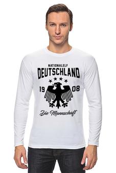 """Лонгслив """" Сборная Германии"""" - сборная германии, футбол, германия, сборная германии по футболу"""