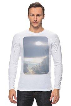 """Лонгслив """"Выше облаков!"""" - облако, небо, облака, фотография, высота"""