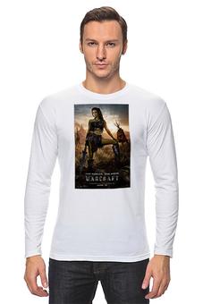"""Лонгслив """"Warcraft"""" - игры, warcraft, kinoart, орки"""