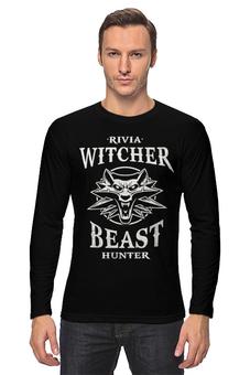 """Лонгслив """"Ведьмак"""" - игры, ведьмак, witcher, геймерские, для геймеров"""