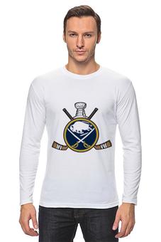 """Лонгслив """"Buffalo Sabres"""" - хоккей, hockey, nhl, нхл, баффало сейбрз"""