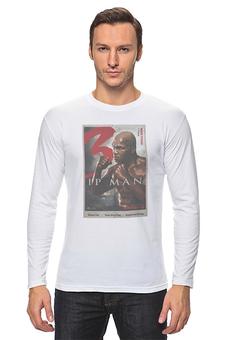 """Лонгслив """"Ip Man 3 / Mike Tyson"""" - майк тайсон, mike tyson, kinoart, ip man, ип ман"""