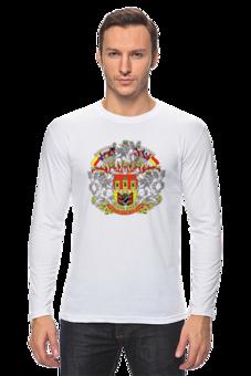 """Лонгслив """"C/Л/Г/Э мужская футболка"""" - футболка мужская"""