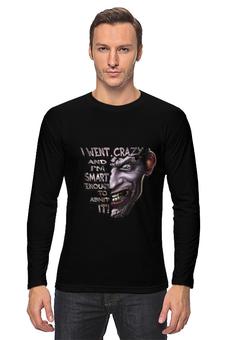 """Лонгслив """"Джокер"""" - joker, batman, джокер, дизайнерская футболка, usmanart"""