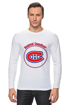 "Лонгслив ""Montreal Canadiens"" - хоккей, nhl, нхл, montreal canadiens, монреаль канадиенс"