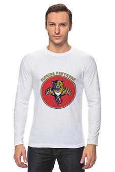 "Лонгслив ""Флорида Пантерс "" - хоккей, nhl, нхл, florida panthers, флорида пантерс"