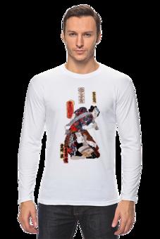"""Лонгслив """",,Japan Theatre'' SK design"""" - арт, авторские майки, оригинально, футболка мужская, креативно, выделись из толпы"""