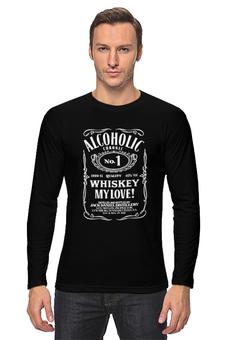 """Лонгслив """"Jack Daniels"""" - алкоголь, джек дениелс, бар, бармен, джек дэниелз"""