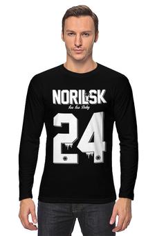 "Лонгслив ""Norilsk by DMCity"" - designministry, norilsk, норильск, dmcity, nsk24"