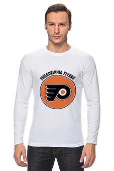 """Лонгслив """"Philadelphia Flyers"""" - спорт, хоккей, nhl, нхл, филадельфия флайерз"""