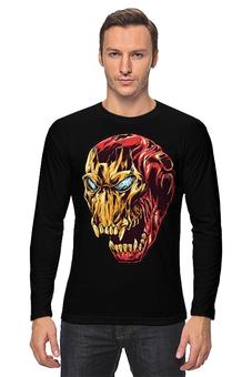 """Лонгслив """"Ironman / Железный человек"""" - comics, комиксы, железный человек, ironman"""