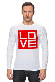 """Лонгслив """"Love (Любовь)"""" - любовь, поп арт, дизайн, pop atr"""