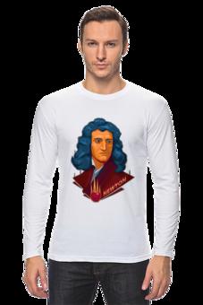 "Лонгслив ""Ньютон"" - science, наука"