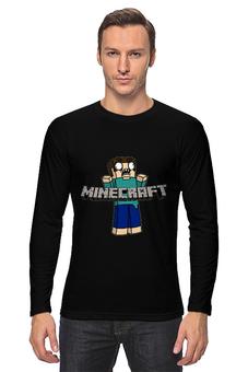 """Лонгслив """"Minecraft """" - minecraft, майнкрафт"""