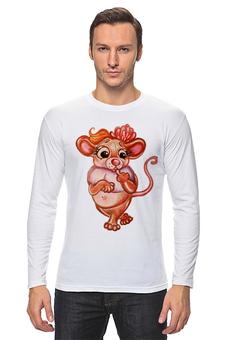 """Лонгслив """"Год Мыши"""" - мышь, девочке, красотка, мышка, хорошенькая"""