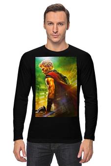 """Лонгслив """"Тор Рагнарёк"""" - супергерой, мстители, марвел, тор, крис хэмсфорт"""