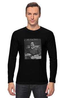 """Лонгслив """"Al Pacino / Ал Пачино"""" - godfather, al pacino, крестный отец, ал пачино, kinoart"""