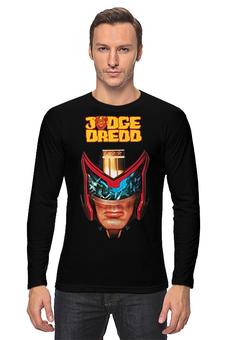 "Лонгслив ""Judge Dredd"" - кино, сильвестр сталлоне, sylvester stallone, судья дредд, judge dredd"
