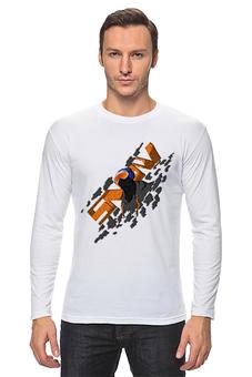 "Лонгслив ""SNOWboarder"" - арт, рисунок"