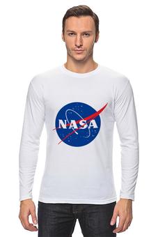 """Лонгслив """"Nasa space"""" - space, science, nasa, наса"""