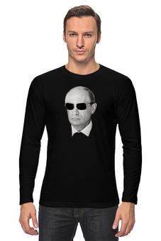 """Лонгслив """"Путин – Всё путём"""" - россия, путин, президент, putin, всё путём"""