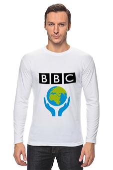 """Лонгслив """"News time"""" - bbc"""