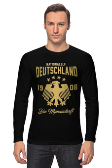 """Лонгслив """" Сборная Германии"""" - команда германии, сборная германии, футбол, германия, сборная германии по футболу"""