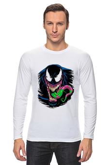 """Лонгслив """"Веном"""" - venom, spider man, человек паук, веном"""