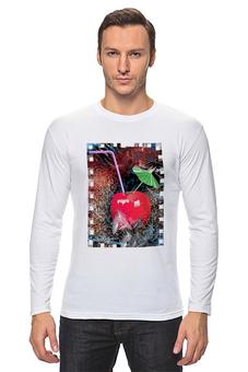"""Лонгслив """"Яблочный микс"""" - напиток, абстракция, яблоко, фрукт, натюрморт"""