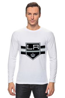 "Лонгслив ""Лос-Анджелес Кингс "" - хоккей, nhl, нхл, los angeles kings, лос-анджелес кингс"