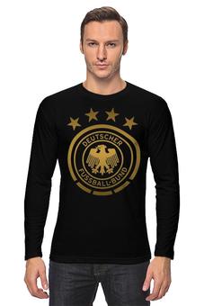 """Лонгслив """"Сборная Германии"""" - команда германии, сборная германии, футбол, германия, сборная германии по футболу"""