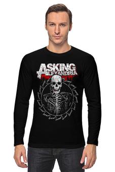 "Лонгслив ""Asking Alexandria"" - рок и метал, пост-хардкор"