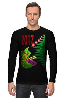"""Лонгслив """"Новогодний сюрприз"""" - новый год, подарок, сюрприз, новогодний, 2017"""