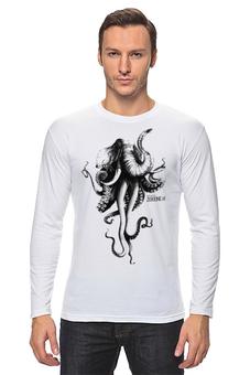 """Лонгслив """"Октослон"""" - рисунок, слон, осьминог, мутация, октослон"""
