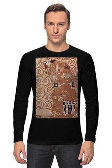 """Лонгслив """"Свершение (Густав Климт)"""" - картина, климт"""