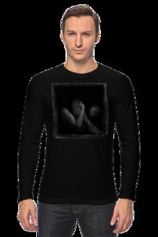 """Лонгслив """"Черный квадрат"""" - мужская, оригинально, футболка мужская, креативно"""