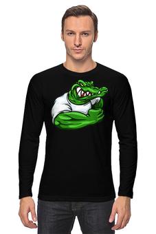 "Лонгслив ""Крокодил"" - крокодил"