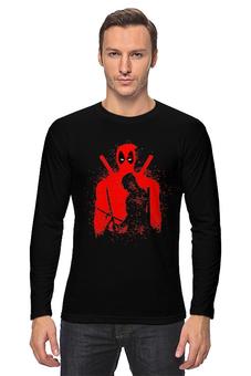 "Лонгслив ""Deadpool"" - комиксы, marvel, deadpool, марвел, дэдпул"