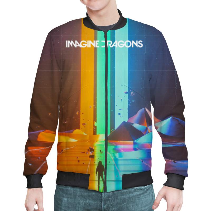Бомбер Printio Imagine dragons imagine dragons арнем