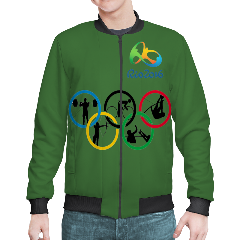 Бомбер Printio Олимпиада в рио 2016
