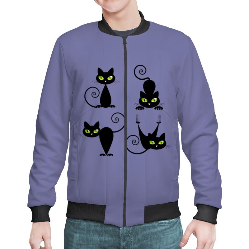 Бомбер Printio Кошки 7 для кошки